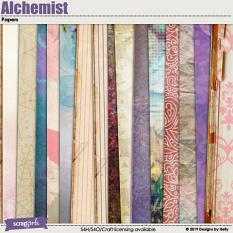 Alchemist Papers by Designs by Helly