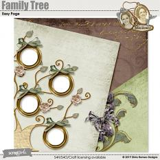 Family Tree Easy Page by Silvia Romeo