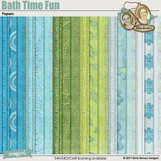 Bath Time Fun Papers by Silvia Romeo