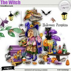 The Witch Embellishments
