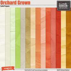 Orchard Grown Solid Papers