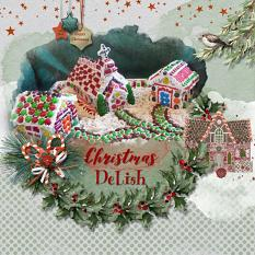 Layout using ScrapSimple Digital Layout Collection:A prelude to Christmas