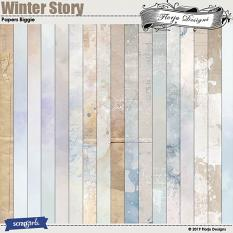 layout using Value Pack : Winter Story by Florju designs