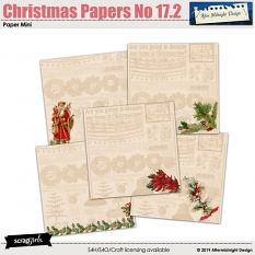 Christmas Papers No 17.2 by Aftermidnight Design