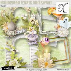 Halloween treats and sweet Clusters 1