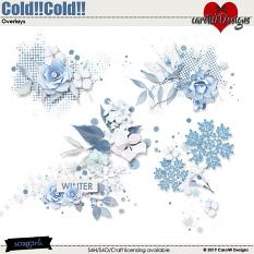 ScrapSimple Digital Layout Collection:Cold!!Cold!!