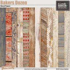 Bakers Dozen Wood Papers