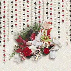 Candy Cane Lane Patterned Papers Details