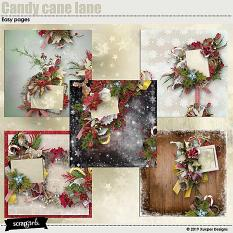 Candy cane lane Easy pages