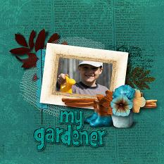 My gardener layout  using Changing Colors Collection