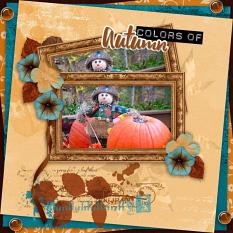 Colors of Autumn layout  using Changing Colors Collection