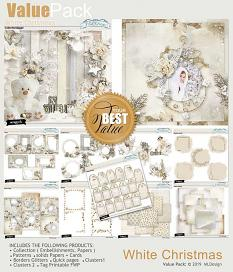 White Christmas Cards details