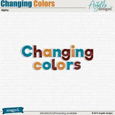 Changing Colors Alpha
