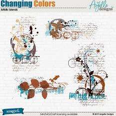 Changing Colors Artistic Blends