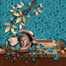Autumn beauty layout  using  Value Pack: Changing Colors