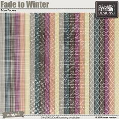 Fade to Winter Extra Papers
