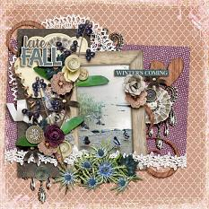 Fade to Winter Layout