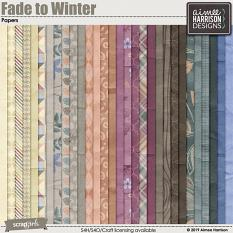 Fade to Winter Papers