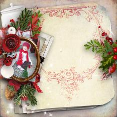 Amazing red winter Papers détails