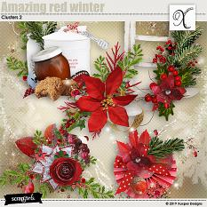 Amazing red winter Clusters 2