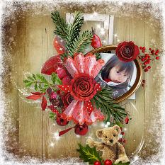 Amazing red winter Easy pages détails