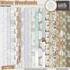 Winter Woodlands Paper Pack