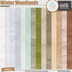 Winter Woodlands Solids Pack