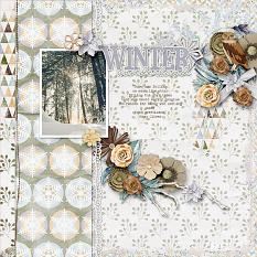 Winter Woodlands Layout