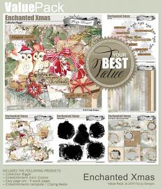 Value Pack: Enchanted Xmas  by florju designs