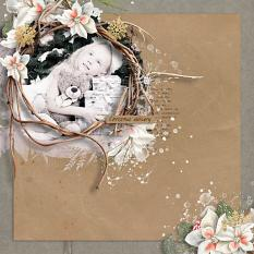 layout using Value Pack: Enchanted Xmas  by florju designs