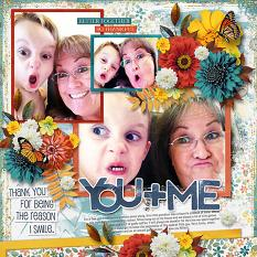 You and Me Layout