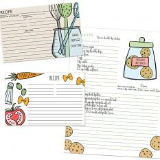 Recipe page and cards created with Tasty Recipe Page & Card Kit