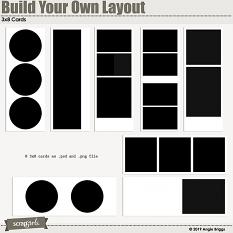 Value Pack: Build Your Own Layout 3x8 card