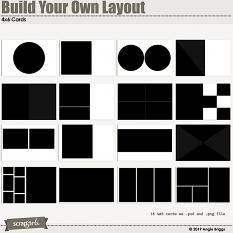 Value Pack: Build Your Own Layout 4x6 card