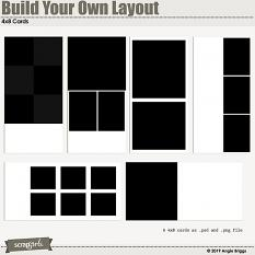 Value Pack: Build Your Own Layout 4x8 card