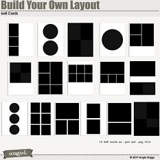 Value Pack: Build Your Own Layout 6x8 card