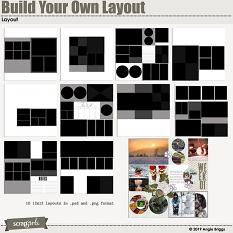 Value Pack: Build Your Own Layout 12x12 layouts
