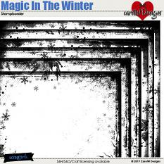 ScrapSimple Digital Layout Collection:Magic In The Winter