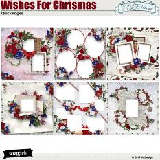 Wishes for Christmas Quick pages