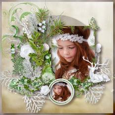 layout using Christmas Collection by BeeCreation