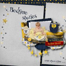 Tales layout using Bedtime Stories Collection