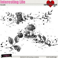 ScrapSimple Digital Layout Collection:Interesting Life