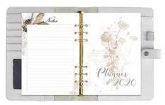 layout using Planner A5 Calendar 2020 Pack 1 by Florju Designs