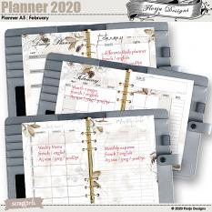 Planner A5 February 2020 by florju