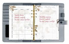 layout using Planner A5 February 2020 by florju