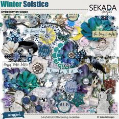 Winter Solstice Embellishment Biggie