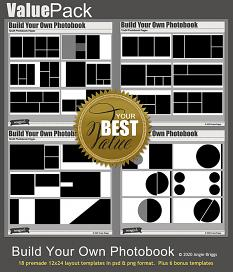 Value Pack: Build Your Own Photobook