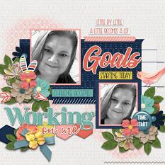 Layout using #2020 January By Connie Prince
