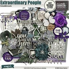Extraordinary People Embellishments