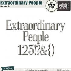 Extraordinary People Alphas